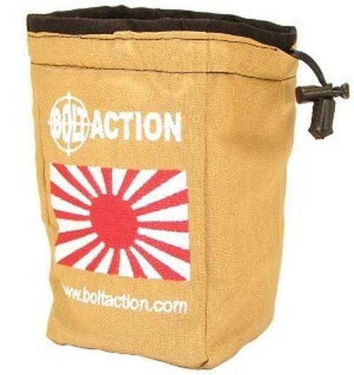Bolt Action: Imperial Japanese Dice Bag (White)
