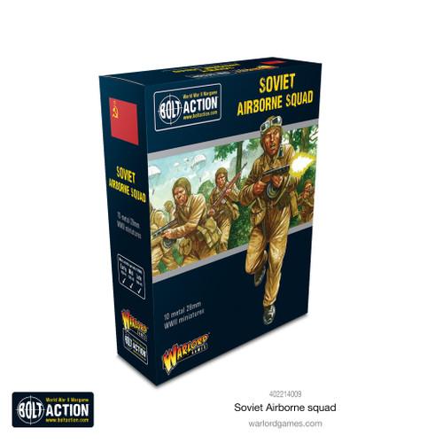 Bolt Action: Soviet Airborne Squad