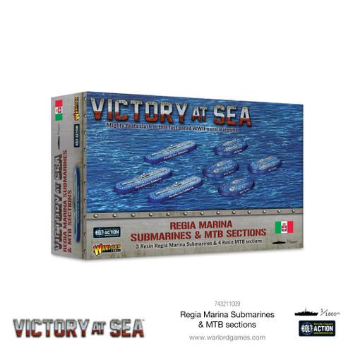 Victory at Sea:  Regia Marina Submarines and MTB Sections