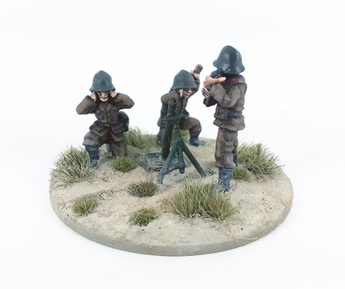 Bulgarian Infantry Mortar Team