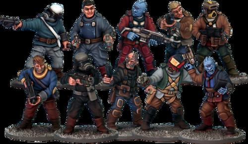 Stargrave: Crew
