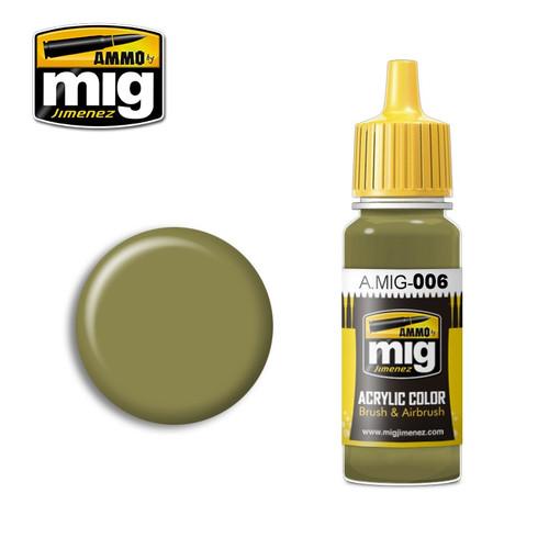 AMMO: Acrylic - RAL 7008 Graugrün Opt. 2