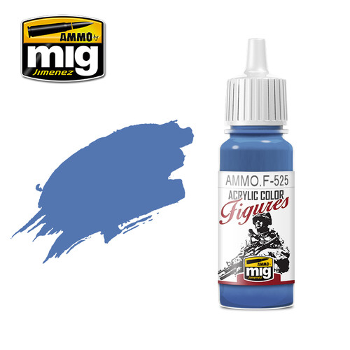 Figures Paints - Medium Blue