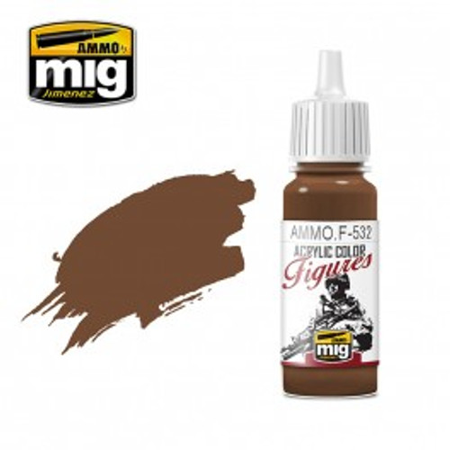 Figures Paints - Red Brown