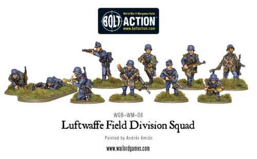 Bolt Action: Luftwaffe Field Division Squad
