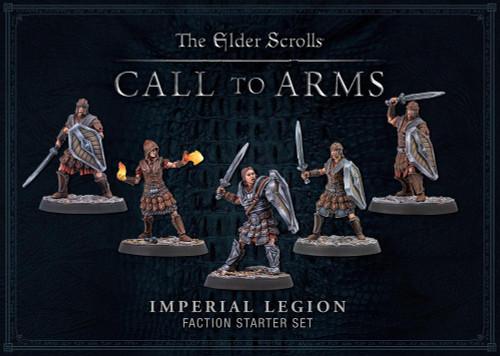 Elder Scrolls: Call To Arms - Imperial Legion Plastic Faction  Starter