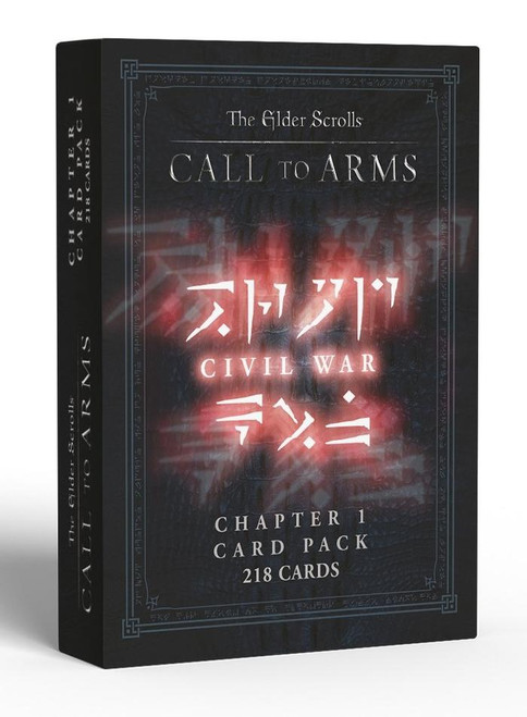 Elder Scrolls: Call to Arms - Chapter 1 Card Pack Civil War