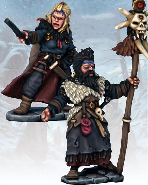 Frostgrave - Barbarian Wizard & Apprentice