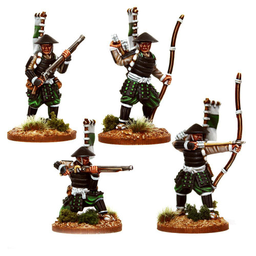 Test of Honour - Ashigaru with Bows and Muskets