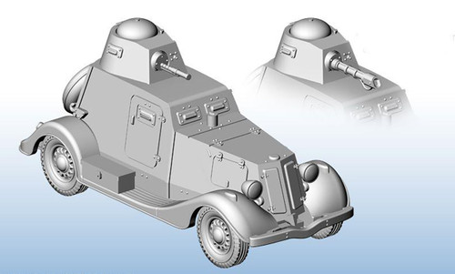 BA-20 Heavy Armoured Car