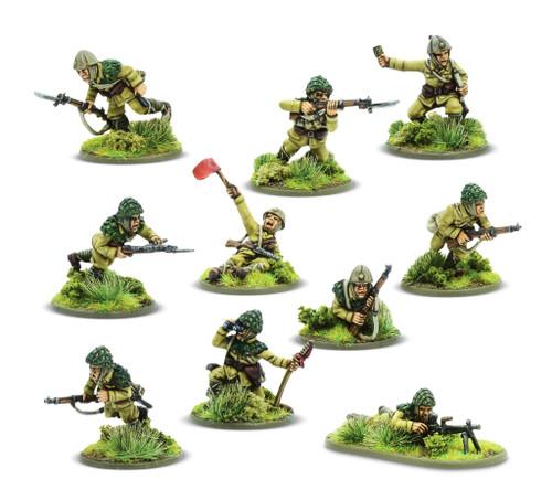 Bolt Action: Japanese Army Teishin Shudan Paratrooper squad