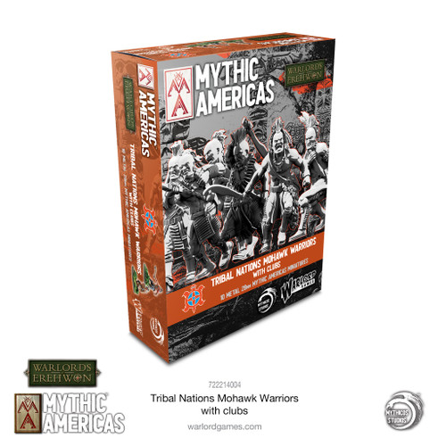 Mythic America: Mohawk Warriors with Clubs