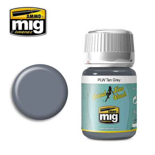 AMMO: Panel Line Wash - Tan Grey (35ml)