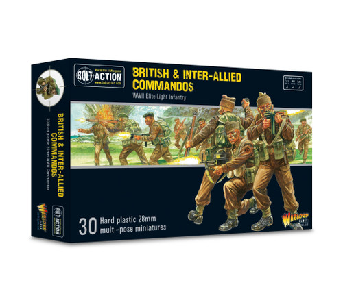 Bolt Action: British and Inter-Allied Commandos