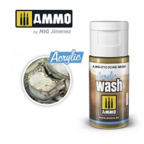 Acrylic Wash - Ochre Wash