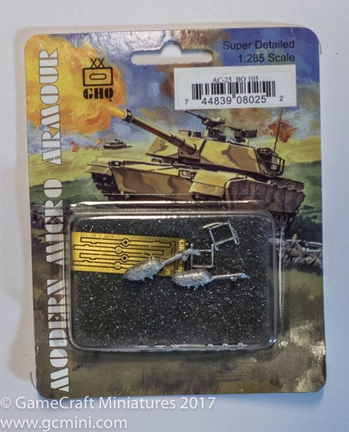 BO 105 Helicopter (2/pk) - AC25