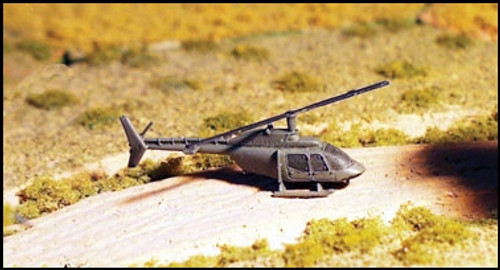 OH-58A Kiowa Scout Helicopter (2/pk)  - AC24