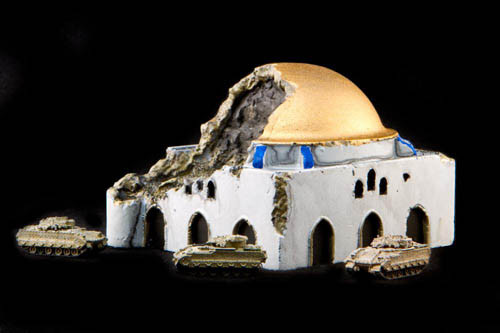 Bombed Mosque (Resin) - 285MEV028