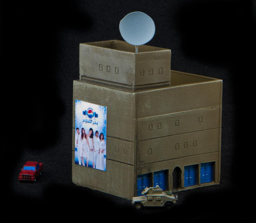 Large 3 story with 2 story on top (Resin) - 285MEV027