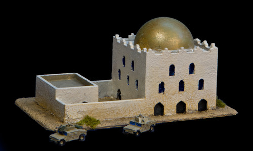 Mosque with Courtyard  (Resin) - 285MEV033