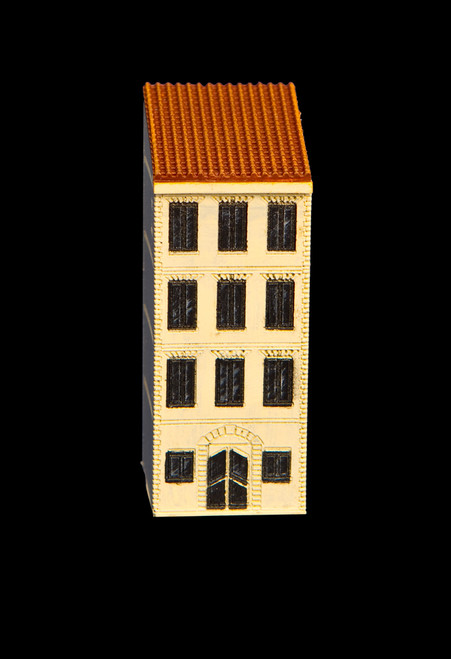 4 Story Building with Red Tile Roof - 285ITM015