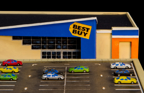 1/285th Scale Best Buy Store - 285MCB001