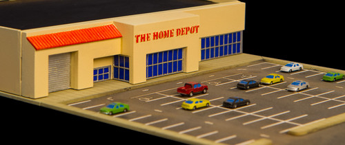 1/285th Scale Home Depot Store - 285MCB004