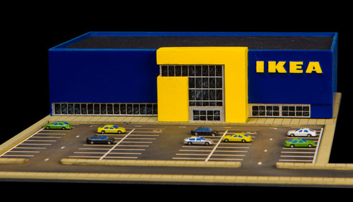 1/285th Scale Ikea Store - 285MCB002