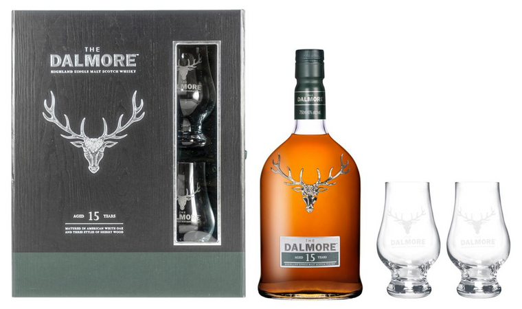 The Dalmore 15 Year Old Gift Set