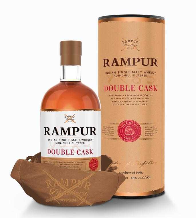 Rampur Double Cask Indian Single Malt