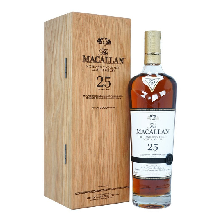The Macallan 25 Year Old Sherry Oak 2019/2020 Release