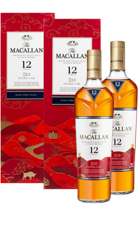 The Macallan 12 Year Old Double Cask Set (CNY Edition)