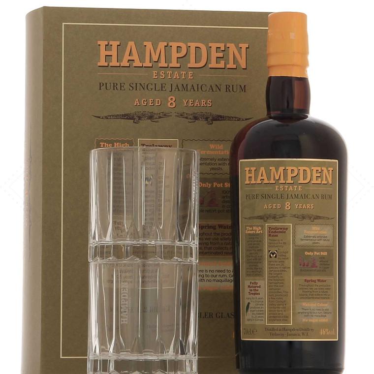 Hampden 8 Year Old Rum Gift Set