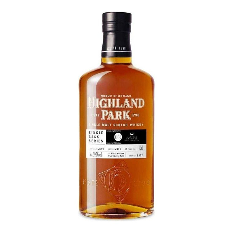 Highland Park 15 Year Old Single Cask Series