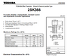 2SK366GR/J107GR low noise J-FET matched Idss 1 pair good gain !