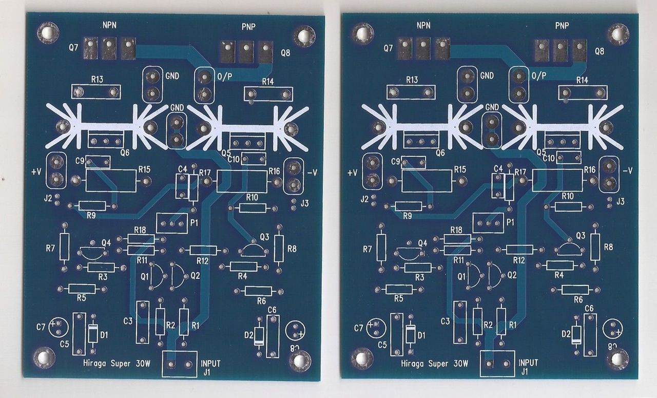 15W pure sound Class A amplifer kit Hiraga !