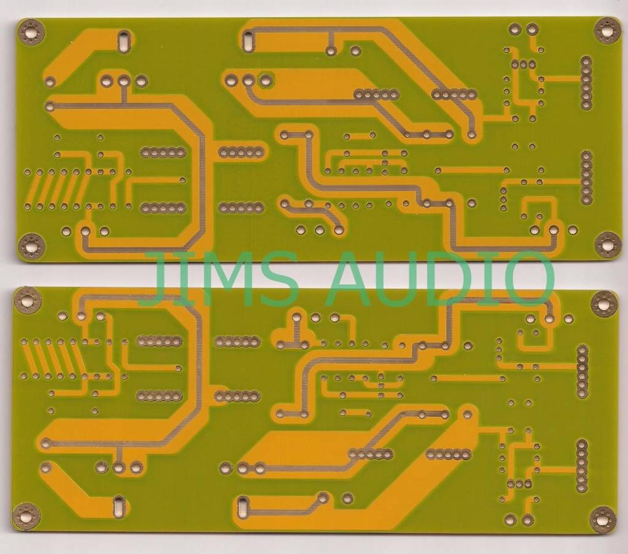 Zen 4 10W Mosfet pure class A SE amplifier PCB one set( 2pieces)