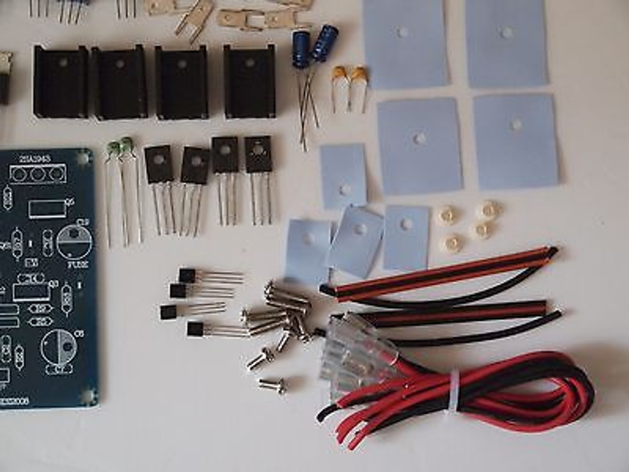 Mosfet  150W power amplifier GB150D partial kit  matched input//out BJT//MOSFET !