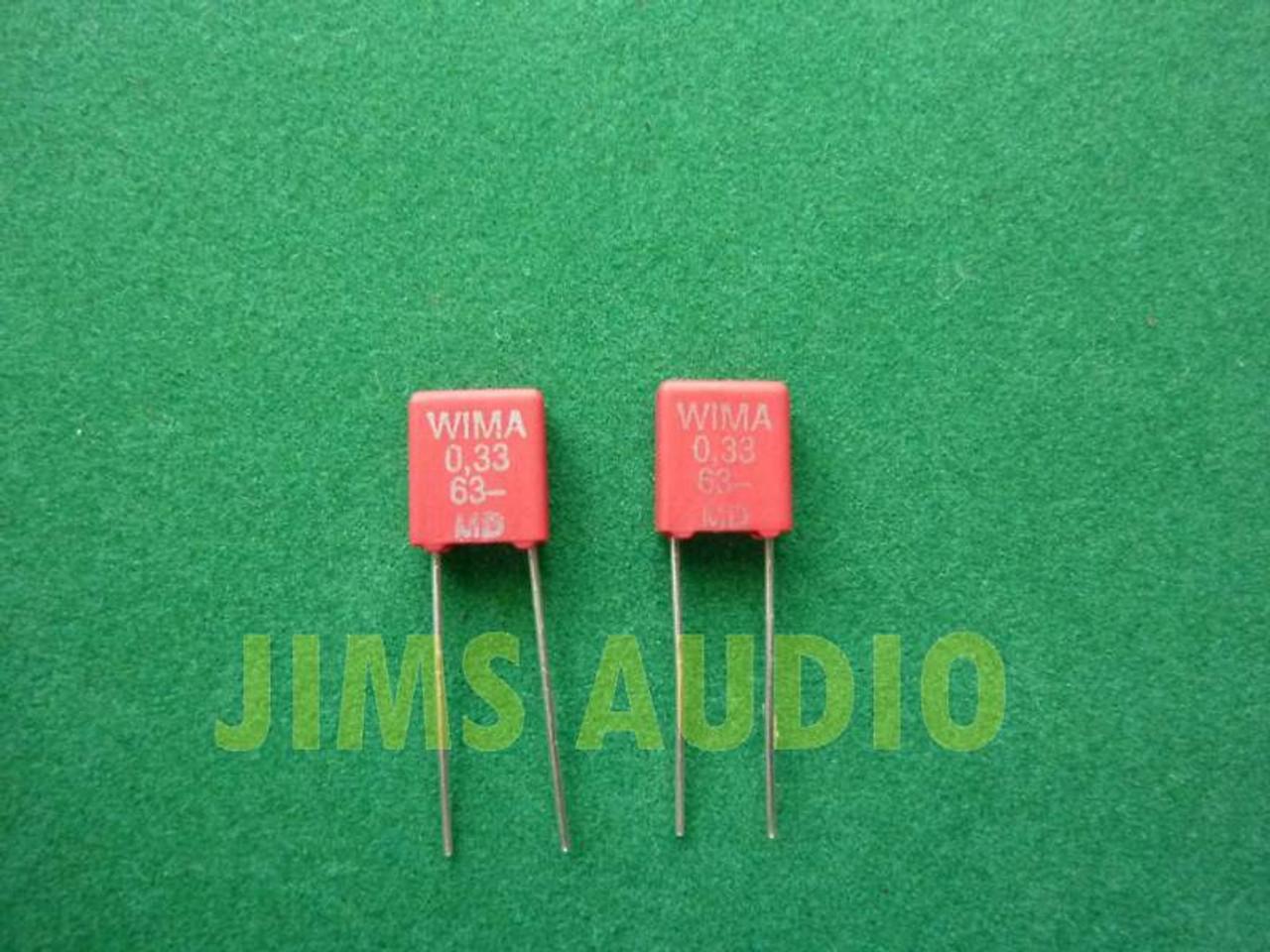 Wima MKP 10 audio grade 4.7uF 160VDC 100VAC capacitor 1 pieces used