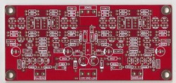 Borbely EB-108/435 circuit All FET Cascode preamplifier PCB one piece!