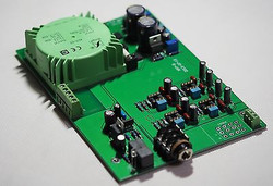 Low distortion ultra-fi headphone amplifier stereo RSA XP-7 assembled !