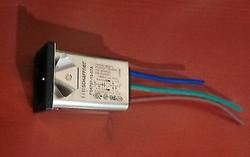 Schaffner IEC inlet socket w/noise filter 110/250VAC 10A FS6757-15-07A 1 piece !