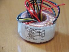 toroidal transformer 15vx2 0.2a 9vx2 0.5a 1pc for preamp & headphone amp !