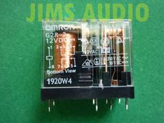 Omron GR2-2-12VDC relay good for spk protection 1pc !