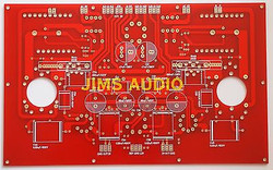 Single board stereo SE Tube  300B power amplifier PCB Kit-One premium PCB !