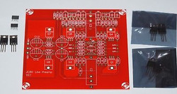 JC-80 PCB new version plus input JFETs & matched mosfets one channel set !