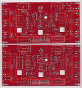 JFET input high speed MOSFET power amplifier PCB MP150 two pieces !