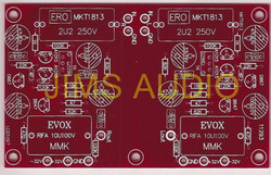 Discrete class A opamp stereo PCB !