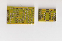 Earth discrete single opamp bare PCB JFET input /output high biasing current