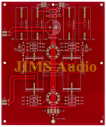 Tube pre-amplifier stereo line stage Matisse Reference premium grade PCB !